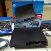 PS3 Slim 500GB CFW Full 100 Judul Game+2 Stik