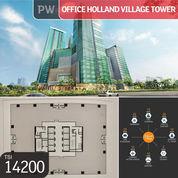 Office Holland Village Tower (Full 1 Lantai), Jakarta Pusat, 1.440 M, Lt 25, SHM (23093175) di Kota Jakarta Pusat