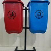 Tempat Sampah Oval 2 Pilah (23097215) di Kab. Bekasi