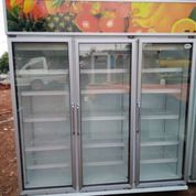 DISPLAY COOLER 3 DOOR (BEKAS)