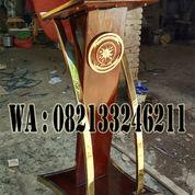 Podium Minimalis Stainless Gold Terbaru 2020 (23132443) di Kab. Jepara
