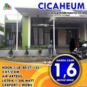 BU Rumah Second Jl Utama Cicaheum Dkt Antapani, Padasuka KPR Dibantu (23144495) di Kota Bandung