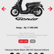 HONDA GENIO 2019 (23145611) di Kota Bandung