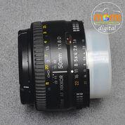 Second NIKON AF 50mm/1.8 D (Code #5806) (23156339) di Kab. Sleman