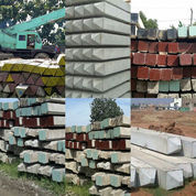 Tiang Pancang, Paku Bumi Beton K500, Alat In Jack Hydraulic, Drop Hammer, Diesel Hammer. (23160011) di Kab. Demak