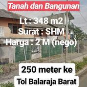Tanah Balaraja 250 Meter Ke Gerbang Tol Kab Tangerang (23170615) di Kab. Tangerang