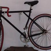 Sepeda Fixie warna campuran Merah dan Hitam (2317260) di Kota Tangerang Selatan