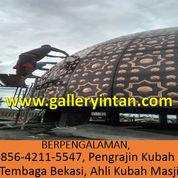 BERPENGALAMAN, Call 0856-4211-5547, Pengrajin Kubah Masjid Tembaga Bekasi, Ahli Kubah Masjid