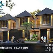 SISA 1 UNIT Rumah SHM 2lt Rungkut Asri Timur 100% GRESS MINIMALIS, Dkt MERR (23183163) di Kota Surabaya