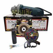 MESIN GERINDA TANGAN MOLLAR 4 INCHI ANGLE GRINDER MOLLAR MLR-AG6700