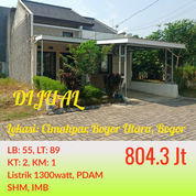 Cluster Ready Stock Bisa KPR Di Kota Bogor (23188419) di Kab. Bogor