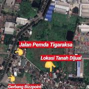 Tanah 350m2 Dekat Bizzpoint Desa Sukamulya Kec Cikupa (23190371) di Kab. Tangerang