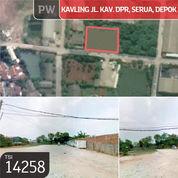 Kavling Jl. Kav. DPR, Serua, Deopk, 50x40m, 1 Lt, SHM (23207783) di Kota Depok