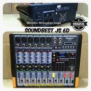 Power Mixer Soundbest 6 Channel