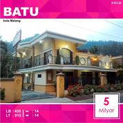 Villa Hotel 14 Kamar Luas 915 Di Songgoriti Kota Batu Malang _ 033.20 (23231447) di Kota Malang