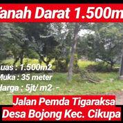 Tanah Cikupa 1.500m2 Dijalan Pemda Kab Tangerang Prop Banten (23236567) di Kab. Tangerang