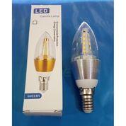 Lampu Candle LED 5W Fitting E14 Hias 5 W Watt Bohlam Lilin Gantung