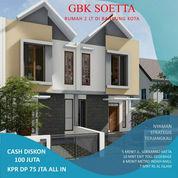Rumah Townhouse Sayap Soekarno Hatta (23261411) di Kota Bandung