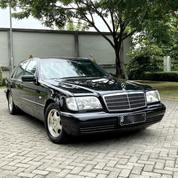 Mercedes Benz S320L W140 1998 Obsidian Black On Black No Malfunction Rare Item ATPM