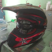 Helm Cross/Trail MVstar Ukuran Xl Joss