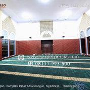 KARPET MASJID HIJAU SIAP KIRIM HINGGA ANTAPANI BANDUNG (23294023) di Kota Bandung