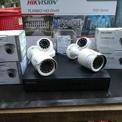 Paket Cctv 4 Camera Hikvision 1080P Full Hd 2 Megapixels (23297795) di Kramat Mulya