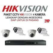 Paket HIKVISION 4 Camera Cctv