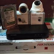 Paket Cctv 2 Kamera Hikvision 1080P 2 Megapixel (23298223) di Kota Jakarta Pusat