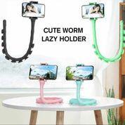 Holder Hp Handphone Lazy Worm Flexible Cute Worm Lazy Holder 360 (23299819) di Kota Surakarta