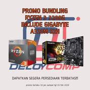 Promo Ryzen 3 3200G Include Gigabyte A320M S2H