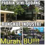Pabrik Berbentuk Gudang Rungkut Industri HITUNG Tanah Surabaya Timur