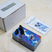 Rockbox Boiling Point Overdrive Pedal - Custom Blue Swirl