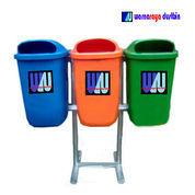 Tempat Sampah Oval Fiberglass 3 Pilah (23345215) di Kab. Bekasi