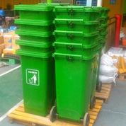 Tempat Sampah Plastik 120 Liter Roda (23345287) di Kab. Bekasi
