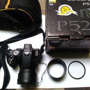 Kamera Nikon Cooplix P520..Mulus + Bonus Gratis Lensa Anti UV Dan Cover Lensa Optik. (23370735) di Kota Bandung