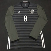 GermanEuro 2016 Away Longsleeve Player Issue Adizero 8 Mesut Ozil
