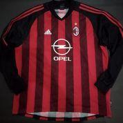 Jersey Milan Original Home 2002 - 03 LS Long Sleeve