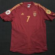 Spain 2004 Home 7 Raul Size L (77 X 56) Excellent Condition