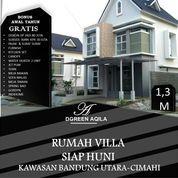Rumah Villa Plus Kolam Renang Di Cimahi Kawasan Bandung Utara Udara Super Sejuk