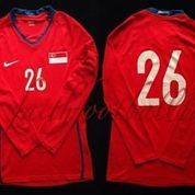 Singapura 2008/2010 Home Player Issue Jersey Original Nike