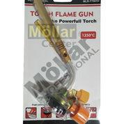 Blow Torch KUNINGAN MOLLAR Kepala Gas Torch Pemantik Api Alat Las