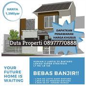 Rumah 2,5 Lt. Bintaro Hanya 1,3M