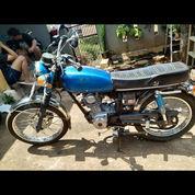 Motor Cb Biru Tua , Jarang Dipakek