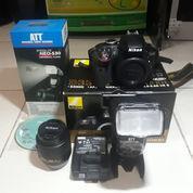 Kamera DSLR Nikon D3300 Fullset
