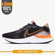 Sepatu Lari Nike Renew Run Total Orange Original CK6357-001