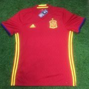 Original Jersey Spain 2016 Home Baju Bola Asli