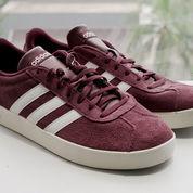 Sepatu Adidas VL Court 2.0 Maroon