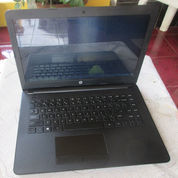 Laptop HP Notebook-14-BW015AU AMD-A9 Plus 4GB-DDR4 Second Mulus Siap Pakai Cod Bogor