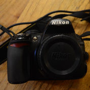 Nikon D3100 (Body Only) & Charger