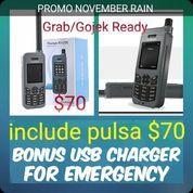 Telepon Satelit Thuraya XT Lite FREE USB Charger + Simcard Pulsa $20